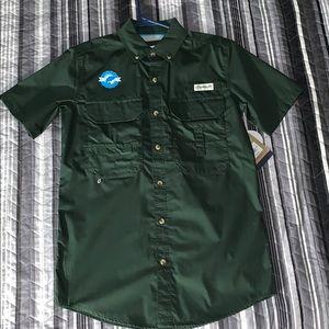 Magellan Outdoors Button-Down T-Shirt